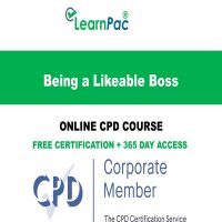 Being a Likeable Boss - LearnPac Online Training Courses UK -