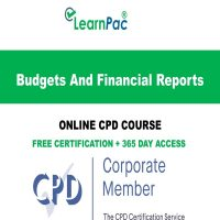 Budgets And Financial Reports - LearnPac Online Training Courses UK -