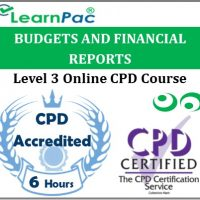 Budgets And Financial Reports - Online Training & Certification -