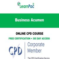 Business Acumen – Online CPD Course - LearnPac Online Training Courses UK –