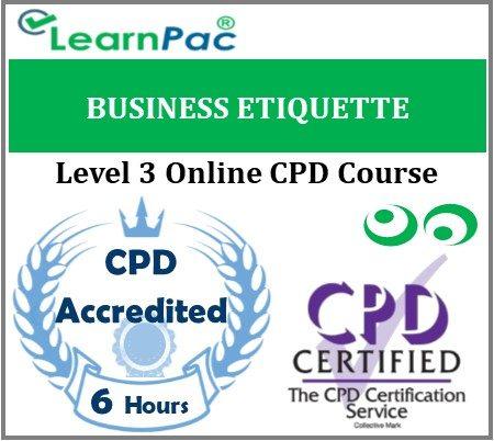 Business Etiquette - Online Training & Certification -