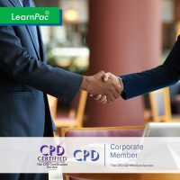 Business Etiquette - Online Training Course - CPD Accredited - LearnPac Systems UK -