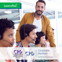 Call Centre - Online Training Course - CPD Accredited - LearnPac Systems UK -