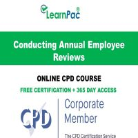 Conducting Annual Employee Reviews – Online CPD Course - LearnPac Online Training Courses UK -