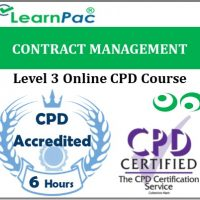 Contract Management - Online Training & Certification -