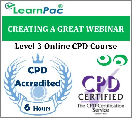 Creating A Great Webinar - Online Training & Certification -