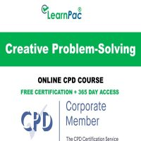Creative Problem-Solving - Online CPD Accredited Courses - LearnPac Systems UK -