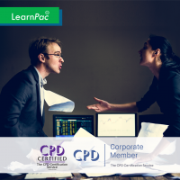 Crisis Management - Online Training Course - CPD Accredited - LearnPac Systems UK -