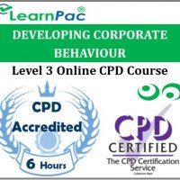 Developing Corporate Behaviour - Online Training & Certification -