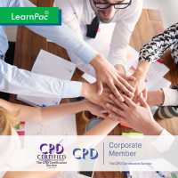 Developing Corporate Behaviour - Online Training Course - CPD Accredited - LearnPac Systems UK -