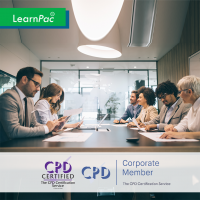 Developing New Managers - Online Training Course - CPD Accredited - LearnPac Systems UK -