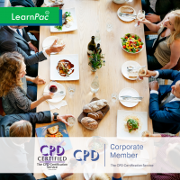Developing a Lunch and Learn - Online Training Course - CPD Accredited - LearnPac Systems UK -