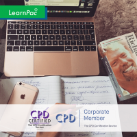 Entrepreneurship - Online Training Course - CPD Accredited - LearnPac Systems UK -