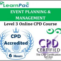 Event Planning & Management - Online Training & Certification -