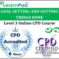 Goal Setting And Getting Things Done - Online Training & Certification -