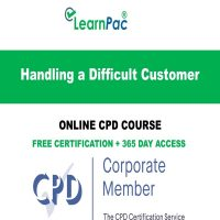 Handling a Difficult Customer – Online CPD Course - LearnPac Online Training Courses UK –