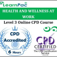 Health And Wellness At Work - Online Training & Certification -