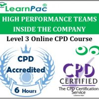High Performance Teams Inside the Company - Online Training & Certification -