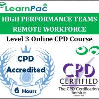 High Performance Teams Remote Workforce - Online Training & Certification -
