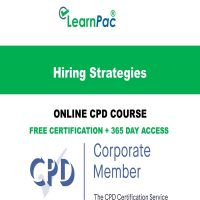 Hiring Strategies - Online CPD Course -