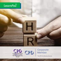 Human Resource Management - Online Training Course - CPD Accredited - LearnPac Systems UK -