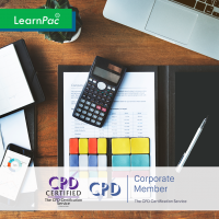 Managing Personal Finances - Online Training Course - CPD Accredited - LearnPac Systems UK -