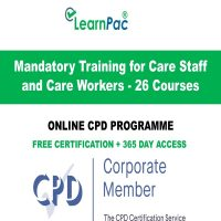 Mandatory Training for Care Staff and Care Workers - LearnPac Online Training -