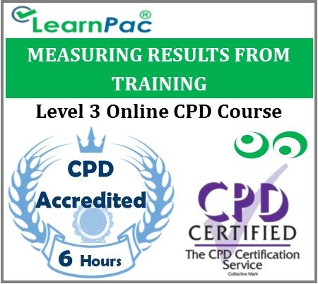 Measuring Results From Training - Online Training & Certification -