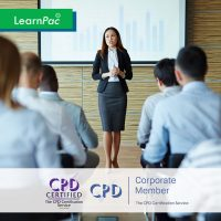 Train the Trainer Training - Online Training Course - CPD Accredited - LearnPac Systems UK -