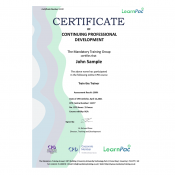 TraintheTrainer - Online Training Course - CPD Certified - LearnPac Systems UK -
