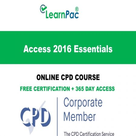 Access 2016 Essentials – Online CPD Course -