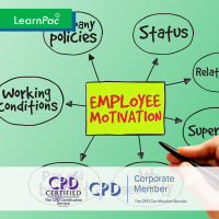 Employee Motivation - Online Training Course - CPD Accredited - LearnPac Systems UK -