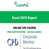 Excel 2016 Expert - LearnPac Online Training Courses UK -