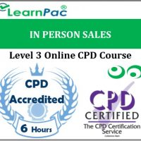 In Person Sales - Online Training & Certification -