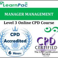 Manager Management - Online Training & Certification -