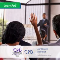Manager Management - Online Training Course - CPDUK Accredited - LearnPac Systems UK -