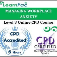 Managing Workplace Anxiety - Online Training & Certification -