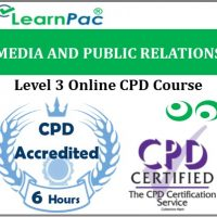 Media And Public Relations - Online Training & Certification -