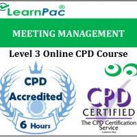 Meeting Management - Online Training & Certification -