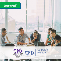 Meeting Management - Online Training Course - CPD Accredited - LearnPac Systems UK -