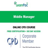 Middle Manager – Online CPD Course - LearnPac Online Training Courses UK -