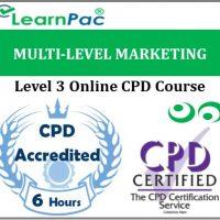 Multi-Level Marketing - Online Training & Certification -