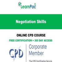 Negotiation Skills – Online CPD Course - LearnPac Online Training Courses UK -