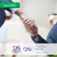 Negotiation Skills Training - Online Training Course - CPD Accredited - LearnPac Systems UK -