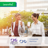 Networking Outside the Company - Online Training Course - CPD Accredited - LearnPac Systems UK -
