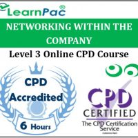 Networking Within the Company - Online Training & Certification -