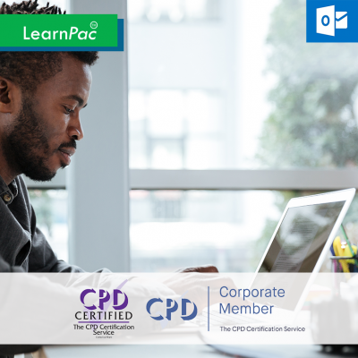 Outlook 2016 Essentials - Online Training Course - CPD Accredited - LearnPac Systems UK -