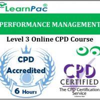 Performance Management - Online Training & Certification -