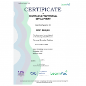 Personal Branding - Confidence - Online Training Course - CPD Certified - LearnPac Systems UK -