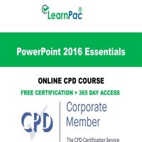 PowerPoint 2016 Essentials - LearnPac Online Training Courses UK -